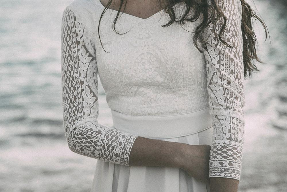 Claudia Llagostera vestido de novia