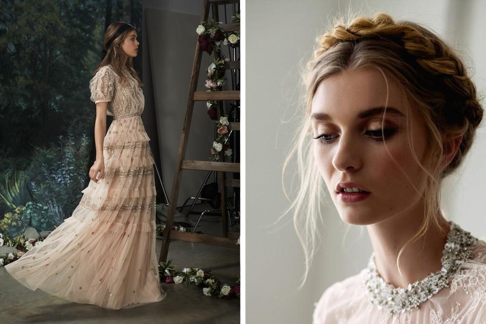 peinados de invitada según el vestido