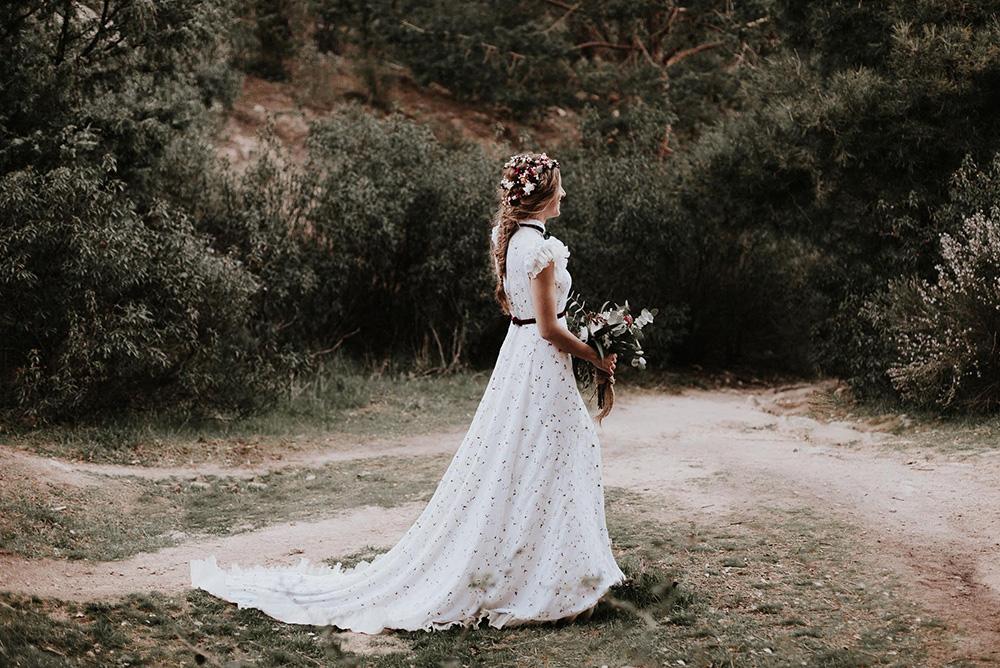 Vestido de novia romántico de La Unike