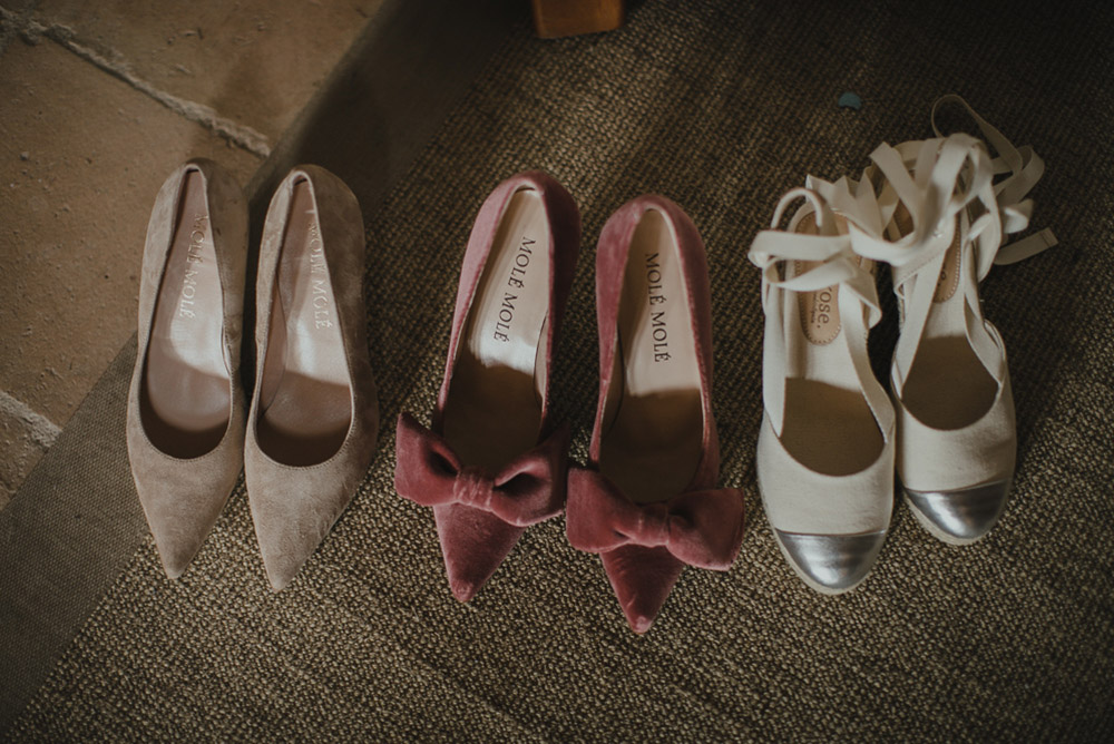 Zapatos con lazos de Miss Cavallier