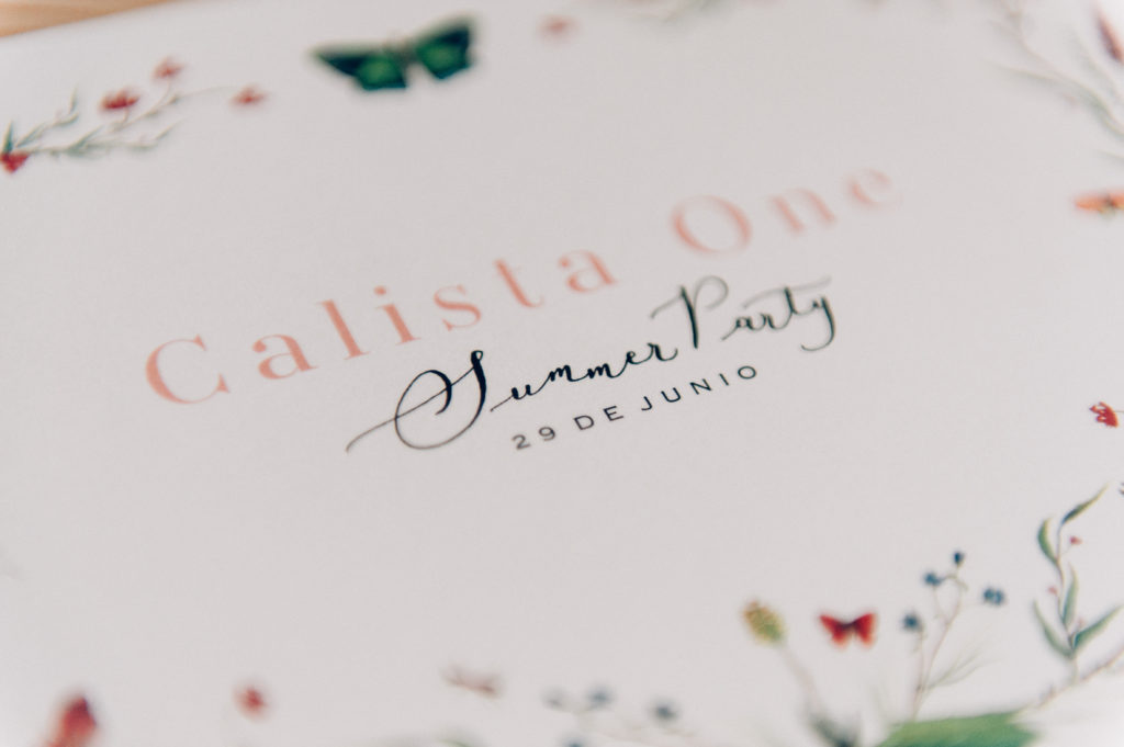 Calista One Summer Party blog y lista de bodas 1
