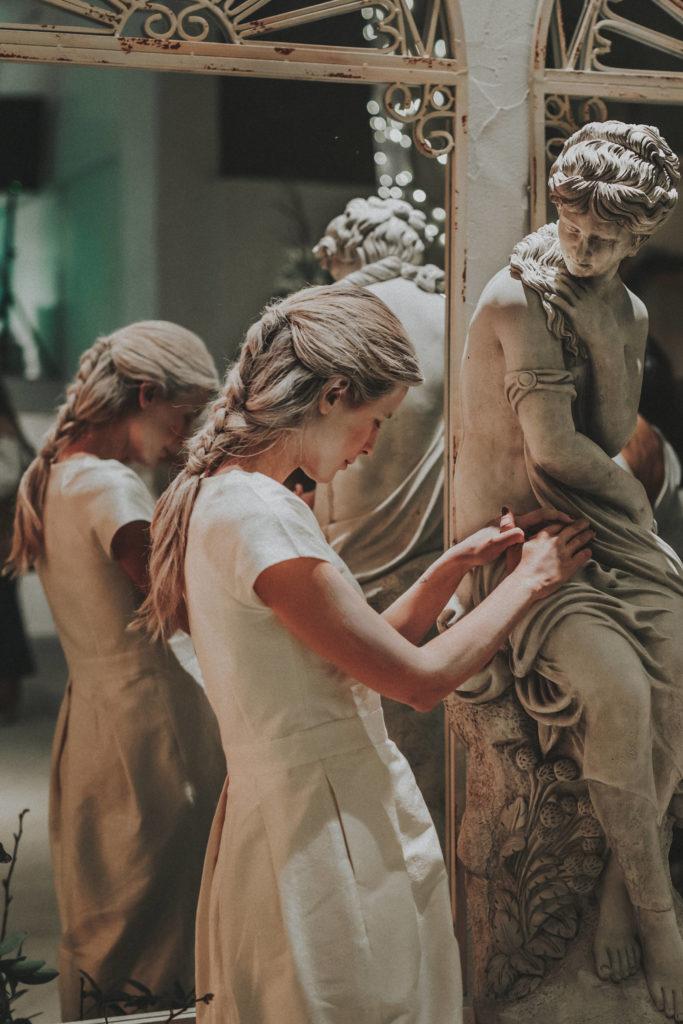 La Estatua del Jardín Botánico - Wedding Style Magazine Evento-142