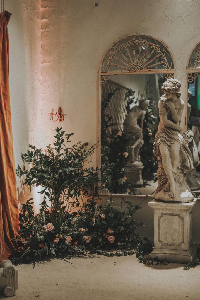 La Estatua del Jardín Botánico - Wedding Style Magazine Evento-41