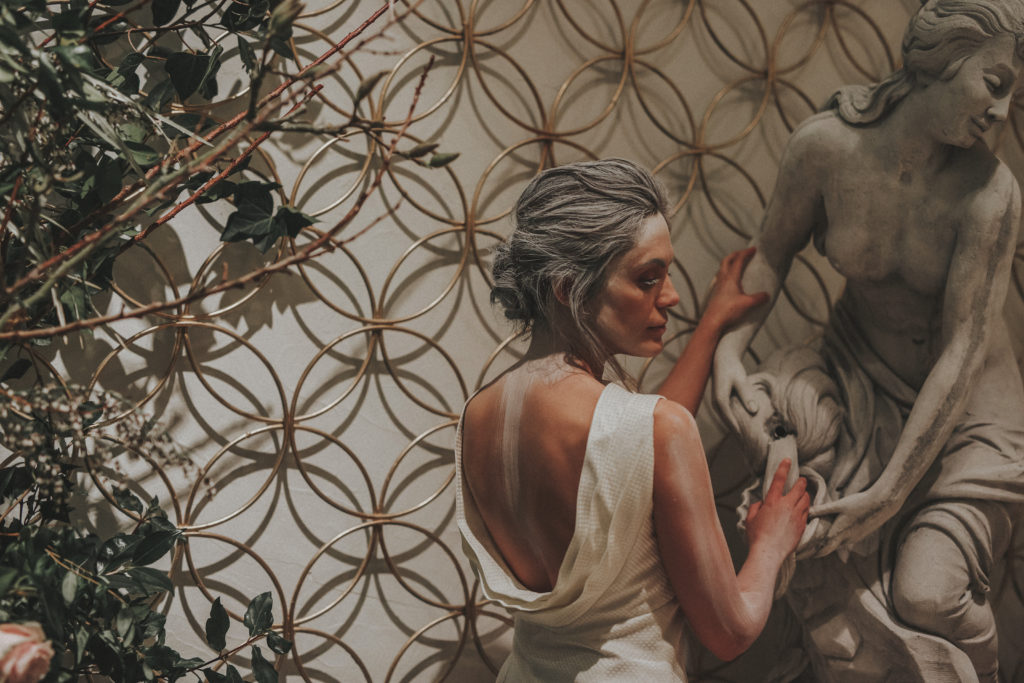 La Estatua del Jardín Botánico - Wedding Style Magazine Evento-66