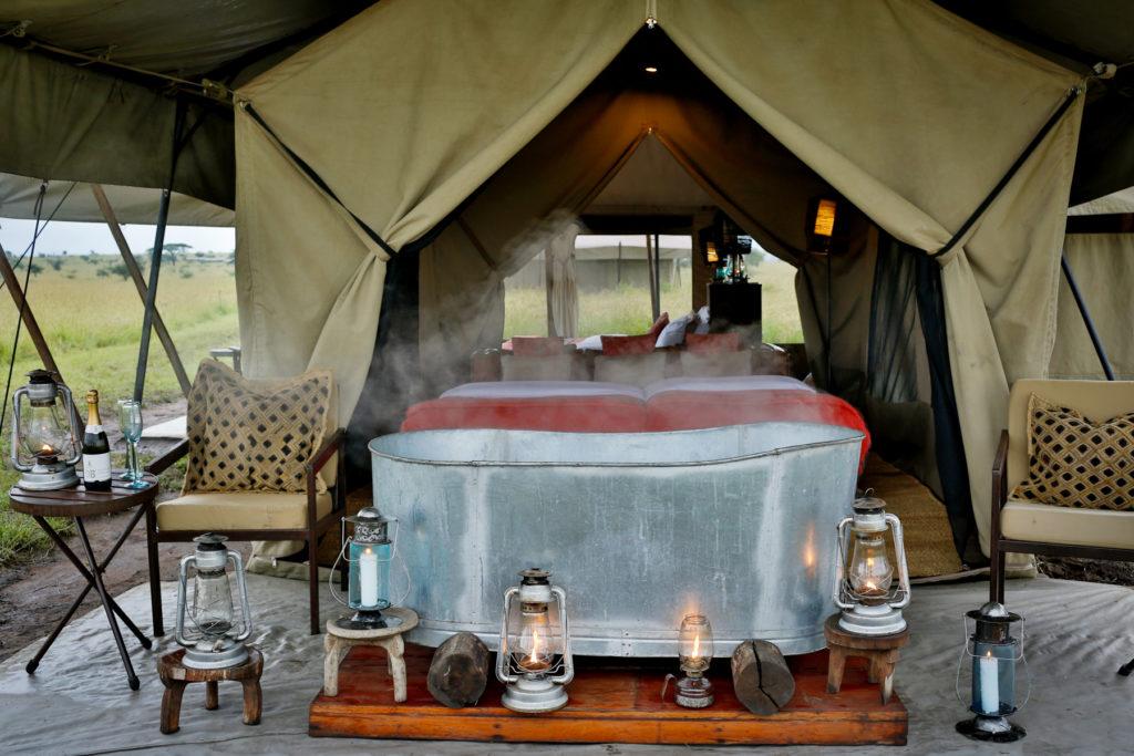Tienda Bañera Pumzika Luxury Safari Camp- Ratpanat