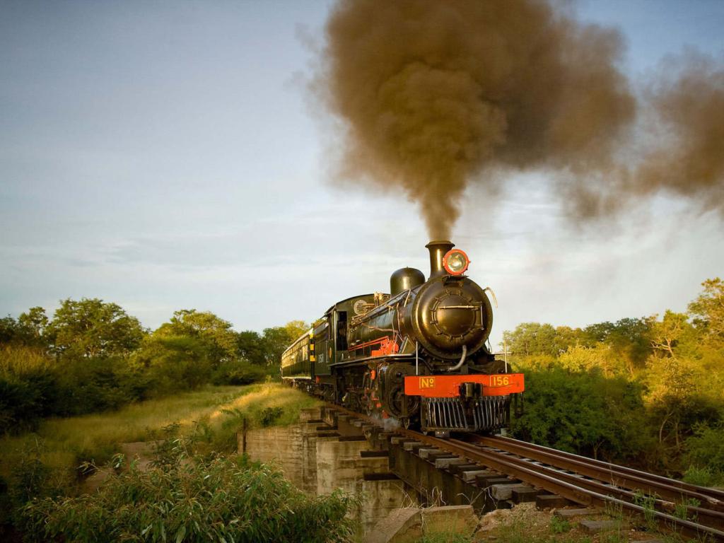 Tren Victoria Falls