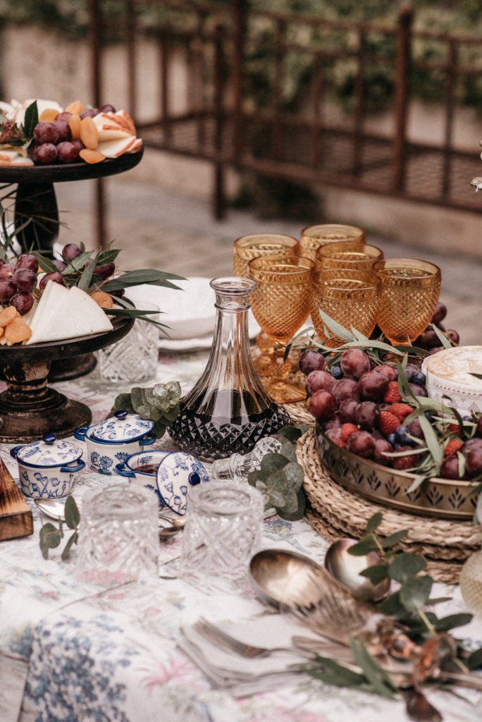 las mesas de wedding style hospes palacio de san esteban13