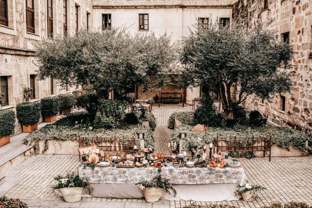las mesas de wedding style hospes palacio de san esteban164