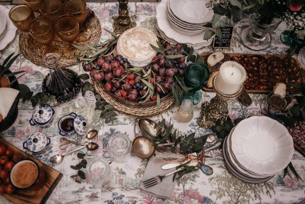 las mesas de wedding style hospes palacio de san esteban176