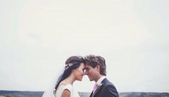 Elena Bau novios campo - Wedding Style Magazine