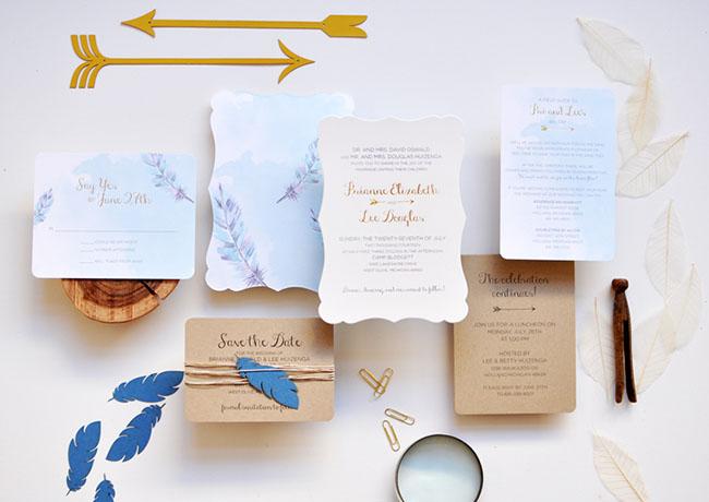 Invitación de Smitten on Paper