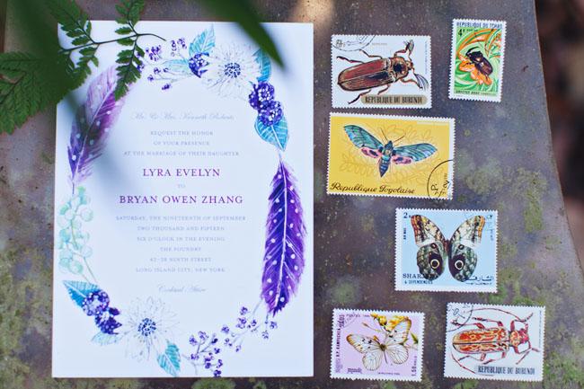 Invitación de wedding paper divas