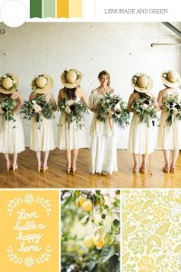 Lemonade-Love-Yellow-Wedding-Mood-Board de Chic Vintage Brides
