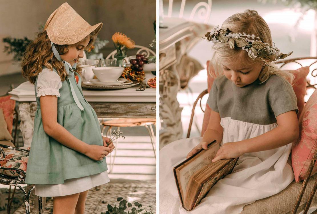 Niños de arras de La Nonna Atelier