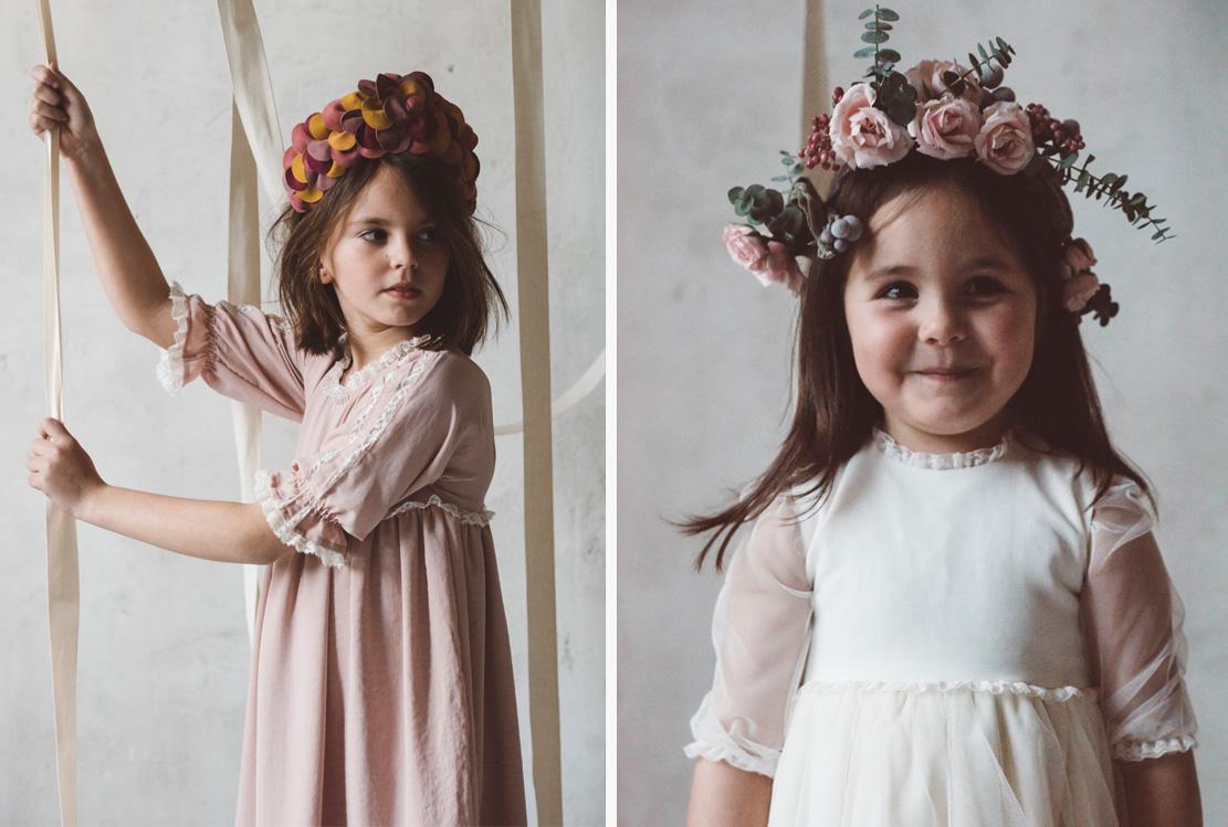 Vestidos de niños de arras de Labubé