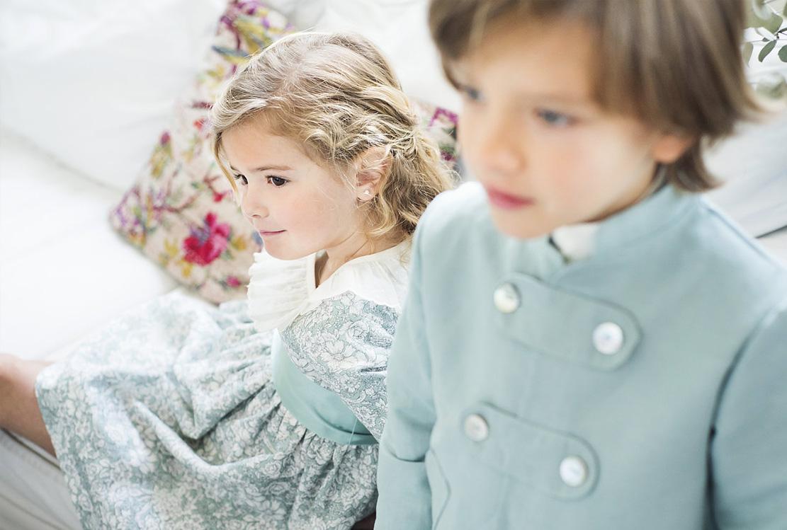 Niños de arras de Teresa y Leticia