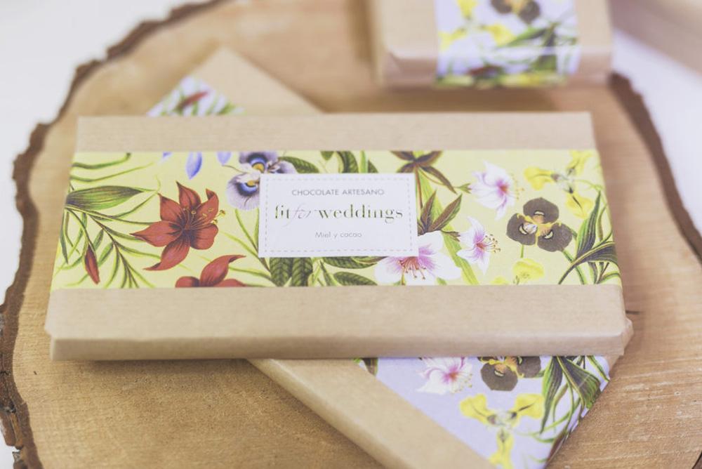 Regalos para invitados de boda: chocolates