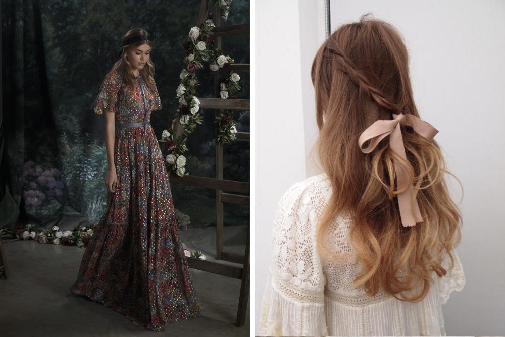 Sensacional peinados segun el vestido Imagen De Tendencias De Color De Pelo - Peinados de invitada según el vestido