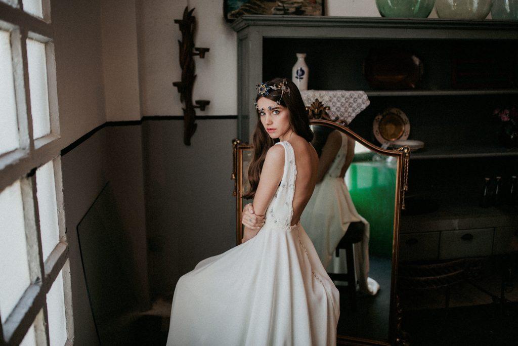Vestido de novia de María Baraza