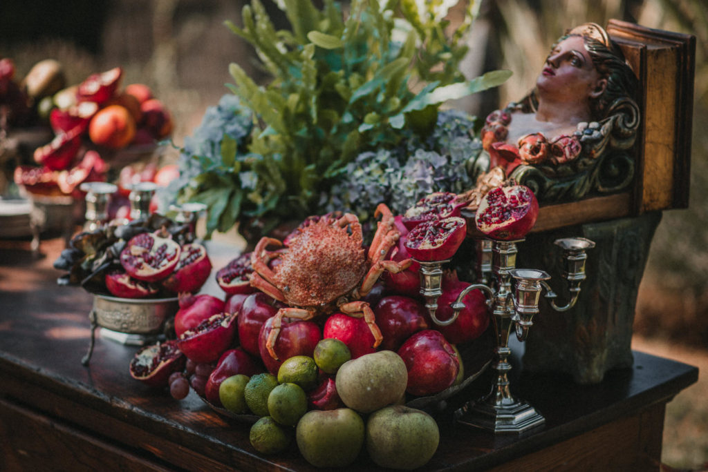 Barra de mariscos Cardamomo Catering Wedding Style