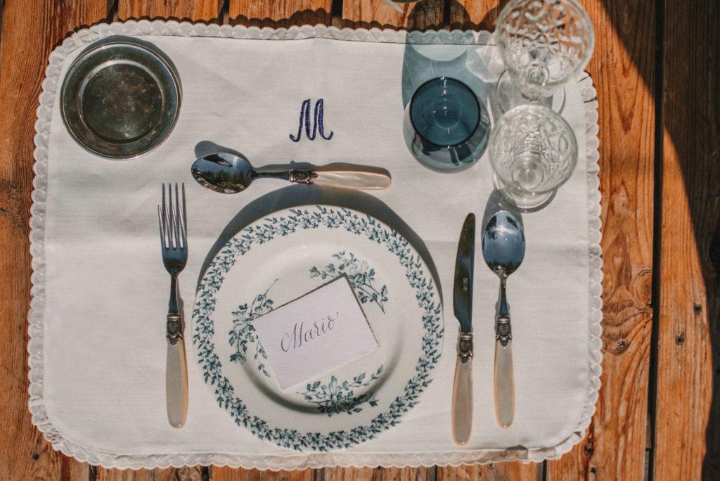Vajilla vintage de Options para Wedding Style