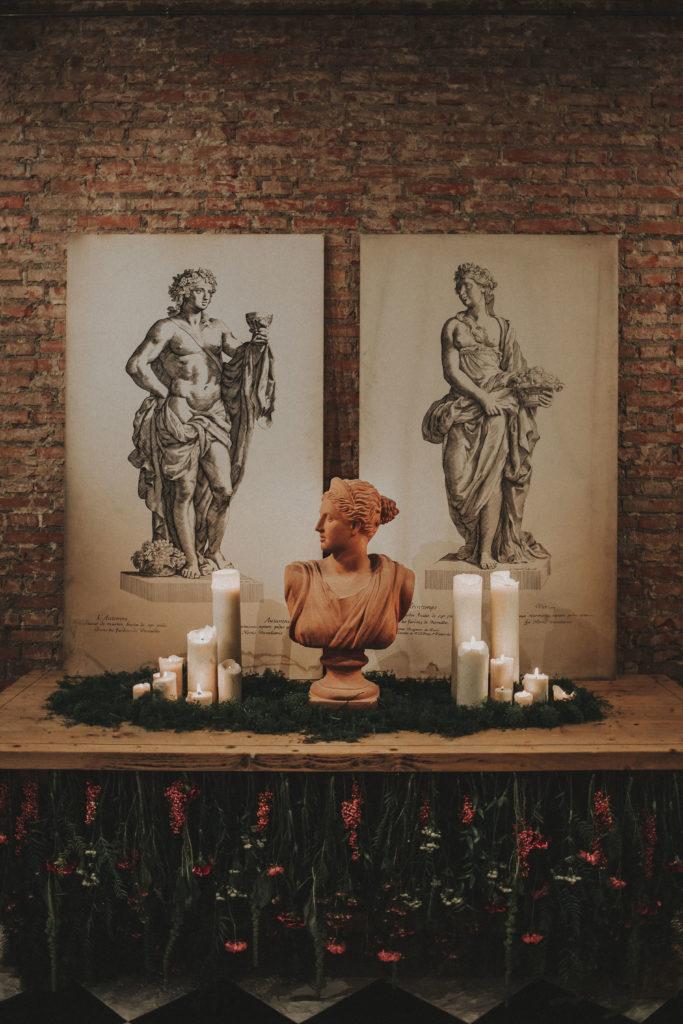 La Estatua del Jardín Botánico - Wedding Style Magazine Evento-44