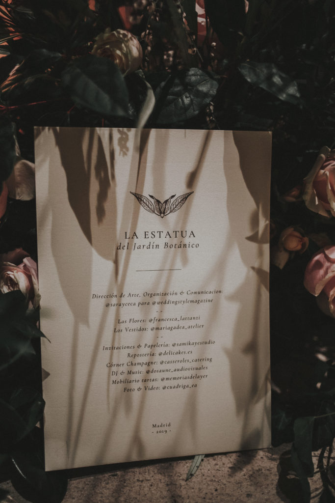 La Estatua del Jardín Botánico - Wedding Style Magazine Evento-9