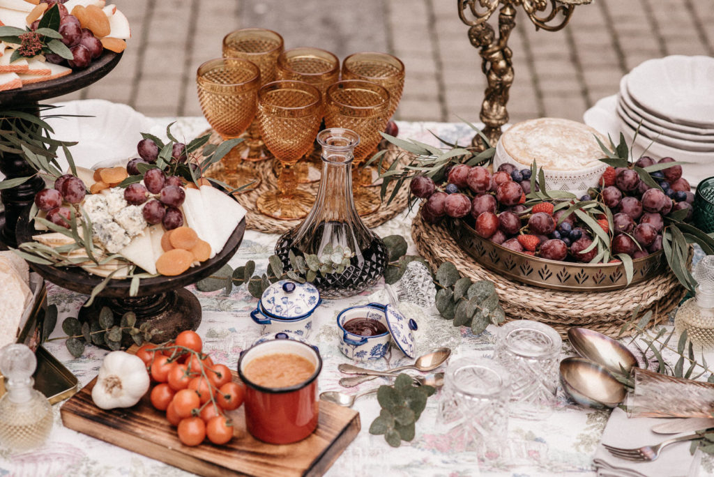 las mesas de wedding style hospes palacio de san esteban144