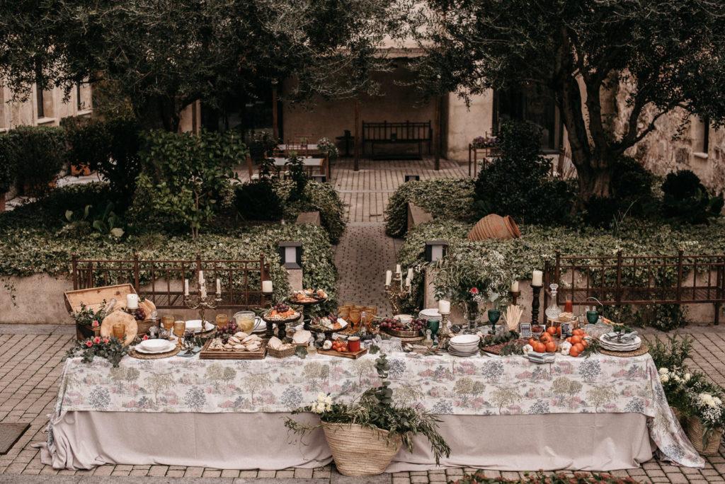 las mesas de wedding style hospes palacio de san esteban158
