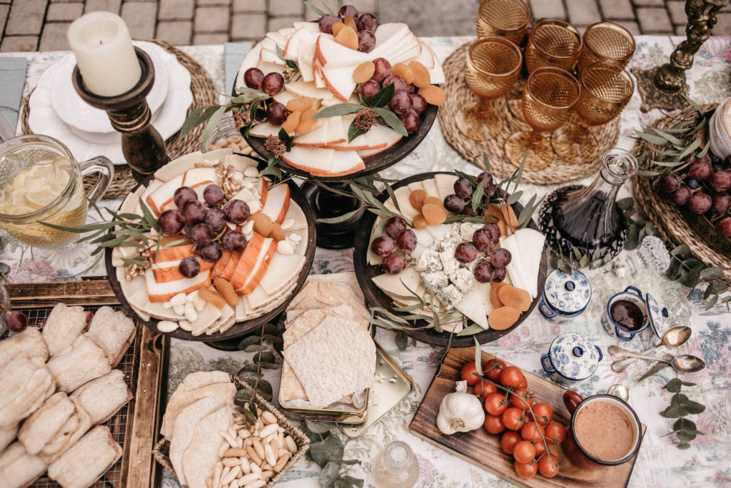 las mesas de wedding style hospes palacio de san esteban174