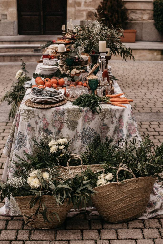 las mesas de wedding style hospes palacio de san esteban85