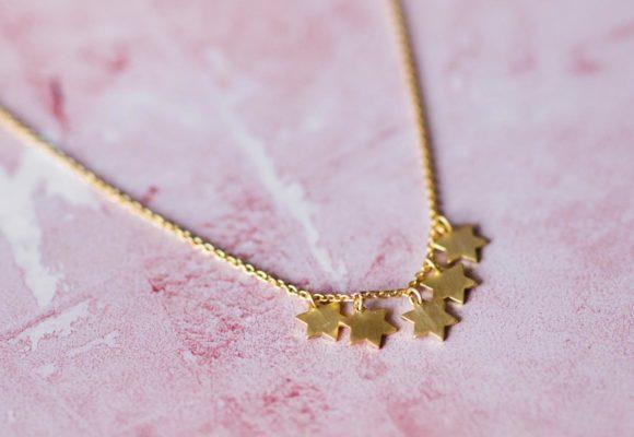 collar estrellas acantha joyas